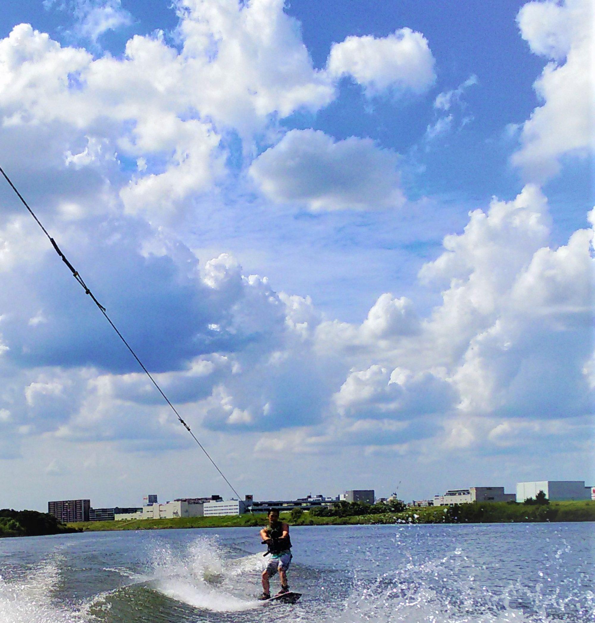 ウェイクボード/ウェイクサーフィン体験【SOUND】